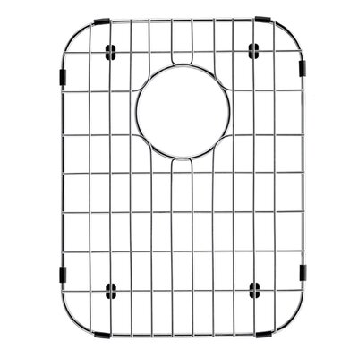 Stainless Steel Bottom Grid, 12-in. x 15.5-in.