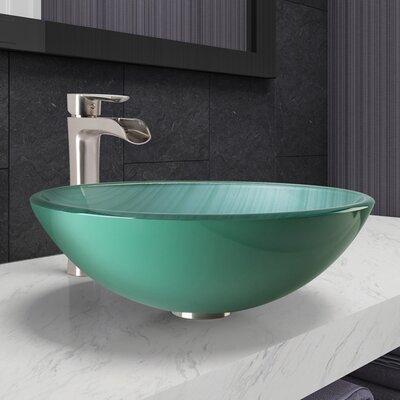 Circular Vessel Bathroom Sink