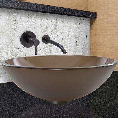 Circular Vessel Bathroom Sink Faucet Finish: Antique Rubbed Bronze