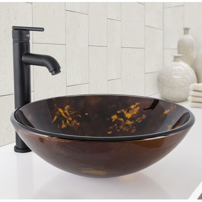 Vessel Circular Vessel Bathroom Sink