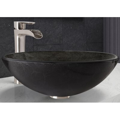 Circular Vessel Bathroom Sink