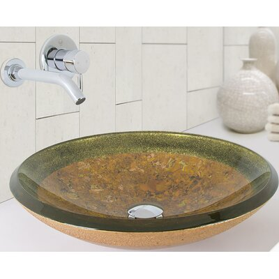 Janus Circular Vessel Bathroom Sink