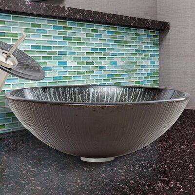 Circular Vessel Bathroom Sink Finish: Enchanted Earth
