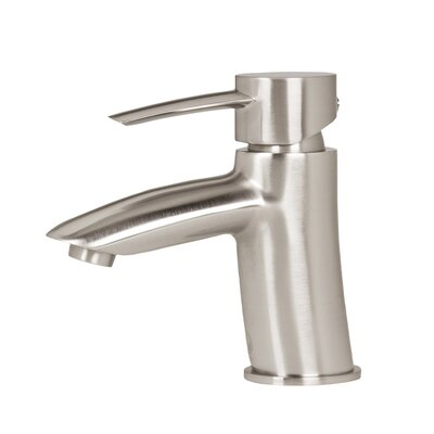 Bova Single Lever Basin Bathroom Faucet Finish: Brush Nickel