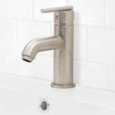 Setai Single Lever Basin Bathroom Faucet Finish: Brushed Nickel