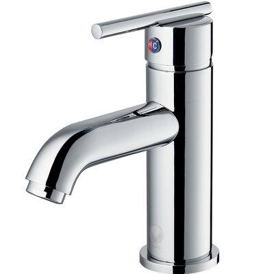 Triana Single Lever Basin Bathroom Faucet Finish: Chrome