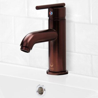 Triana Single Lever Basin Bathroom Faucet Finish: Oil Rubbed Bronze