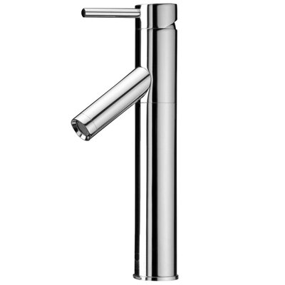 Dior Single Lever Vessel Bathroom Faucet Finish: Chrome