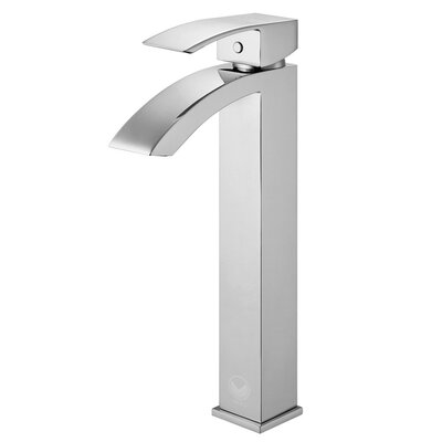 Duris Single Lever Vessel Bathroom Faucet Finish: Chrome