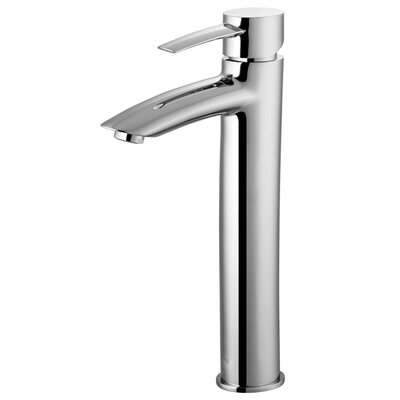 Shadow Single Lever Vessel Bathroom Faucet Finish: Chrome