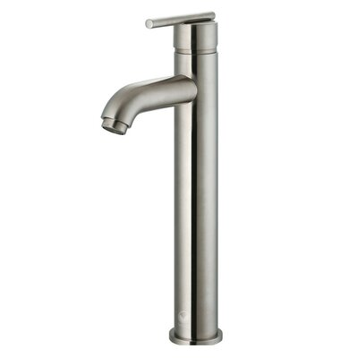 Seville Single Lever Vessel Bathroom Faucet Finish: Brushed Nickel