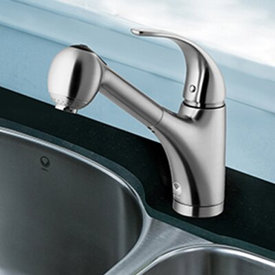 Alexander Single Handle Pull-Out Spray Kitchen Faucet