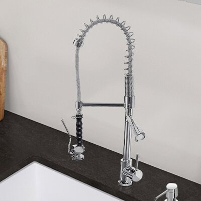 Zurich Single Handle Pull-Down Spray Kitchen Faucet