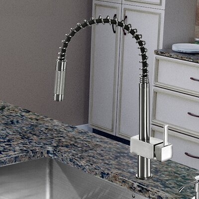 Lincroft Single Handle Pull-Down Kitchen Faucet