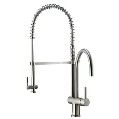 Dresden Pull Down Single Kitchen Handle Faucet