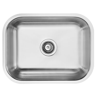 23 inch Undermount 18 Gauge Stainless Steel Kitchen Sink