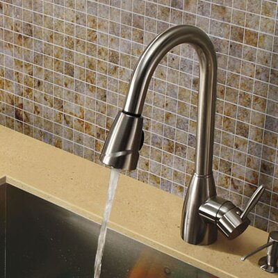Graham Single Handle Pull-Down Spray Kitchen Faucet