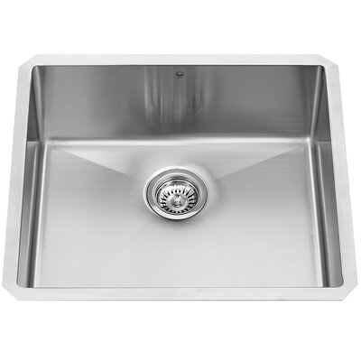 Stainless Steel 23 x 20 Undermount Kitchen Sink