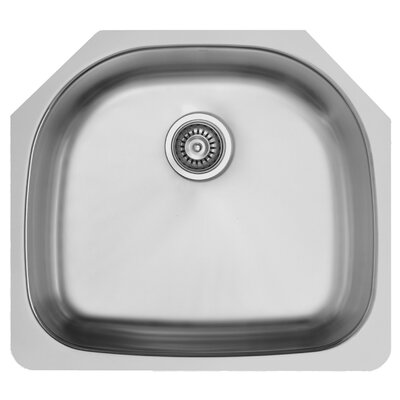 24 inch Undermount 18 Gauge Stainless Steel Kitchen Sink