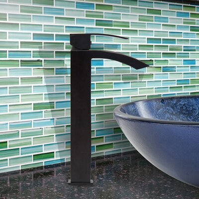 Duris Single Lever Vessel Bathroom Faucet Finish: Matte Black