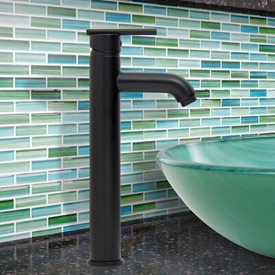Seville Single Lever Vessel Bathroom Faucet Finish: Matte Black