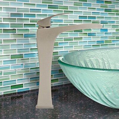 Blackstonian Single Lever Vessel Bathroom Faucet Finish: Brushed Nickel