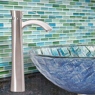 Otis Single Lever Vessel Bathroom Faucet Finish: Brushed Nickel
