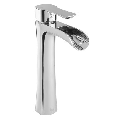 Niko Single Lever Vessel Bathroom Faucet Finish: Chrome