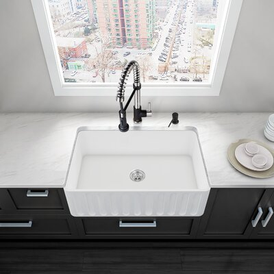 30 x 18 Farmhouse Kitchen Sink