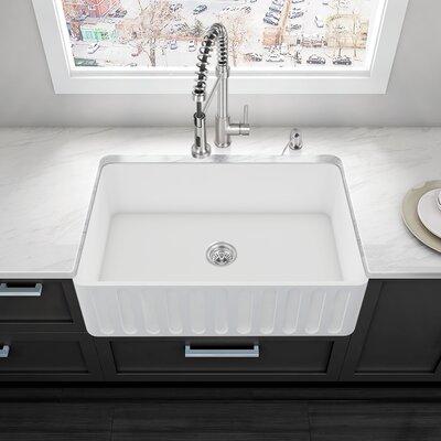 33 x 18 Farmhouse Kitchen Sink