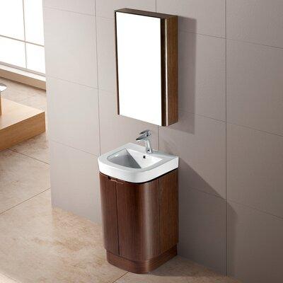Calantha 20 Single Bathroom Vanity Set with Mirror