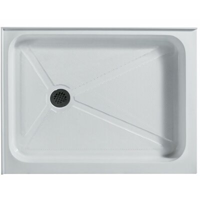 "Vigo Rectangular Shower Base - Drain Location: Left Hand Side, Size: 32""W x 40""D at Sears.com"