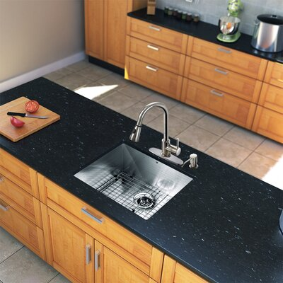 Weston Pull Out Single Handle Kitchen Faucet