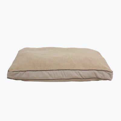 Four Season Dog Pillow with Cashmere Berber Top Size: Medium (36
