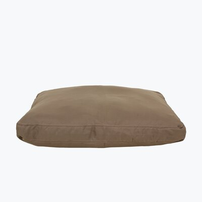 Brutus Tuff Petnapper Dog Pillow Color: Khaki, Size: Large (52 L x 40 W)