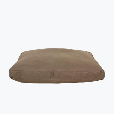 Brutus Tuff Petnapper Dog Pillow Size: Large (52 L x 40 W), Color: Khaki