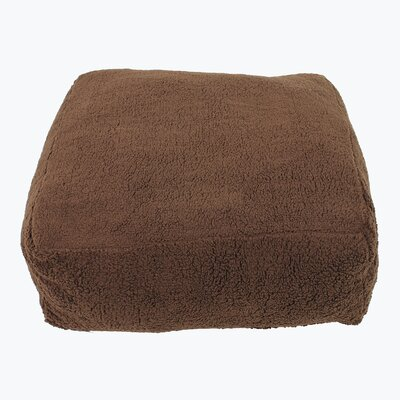 Cloudy Pouf Dog Pillow Size: Small (26 L x 26 W)