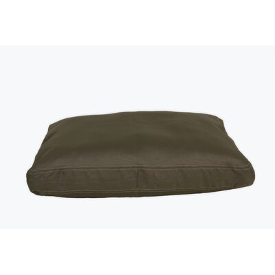 Brutus Tuff Petnapper Dog Pillow Color: Olive, Size: Large (52 L x 40 W)