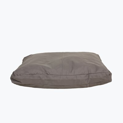 Brutus Tuff Petnapper Dog Pillow Size: Small (36 L x 27 W), Color: Silver Grey