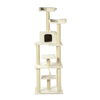 79 Cat Tree in White