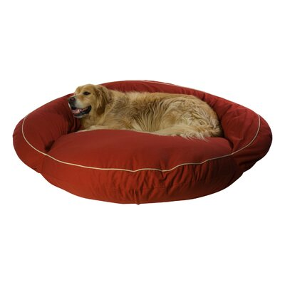Delta Pet Bed Size: Medium (42 L x 42 W), Color: Barn Red
