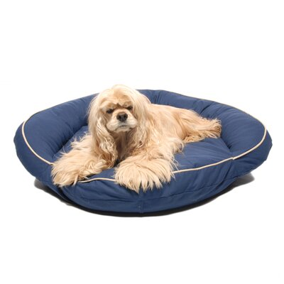 Delta Pet Bed Size: Small (35 L x 35 W), Color: Blue