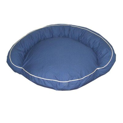 Delta Pet Bed Size: Large (50 L x 50 W), Color: Blue