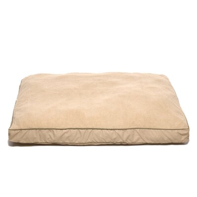 "Four Season Dog Pillow with Cashmere Berber Top Size: Extra Large (48"" L x 36"" W)"