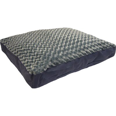 Reina Pet Bed Size: Large (36 L x 27 W), Color: Gray