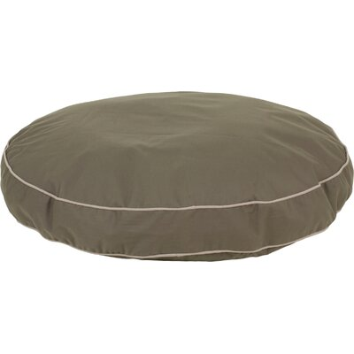 Twill Classic Round Dog Pillow Size: Medium (35 L x 35 W), Color: Sage
