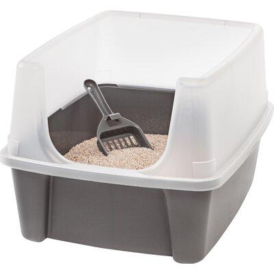 Standard Litter Box Color: Tornado Gray