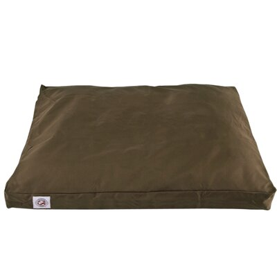 "Brutus Tuff Petnapper Dog Pillow Size: Small (36"" L x 27"" W), Color: Olive"