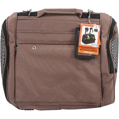 Travel Backpack Pet Carrier Color: Chocolate