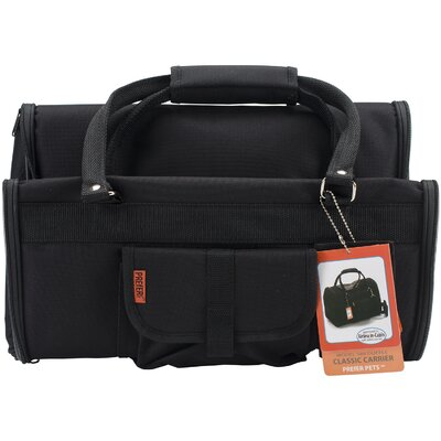 Travel Duffle Pet Carrier Color: Black